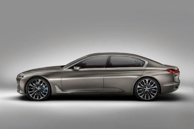 BMW Vision Future Luxury Concept Side Profile
