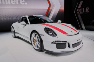 Patrick Long teaches heel-and-toe driving on Porsche's new 911 R