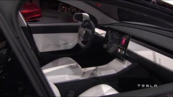 Tesla hasn't actually shown us the Model 3's real interior