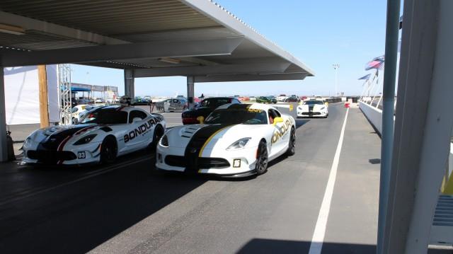 Race track at Bob Bondurant School of High Performance Driving