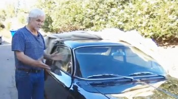 'Leave it to Beaver' star reunited with his Corvair