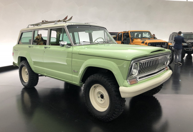 Grand Wagoneer 2018 >> Jeep Brings Basket Of Concepts For 2018 Easter Safari