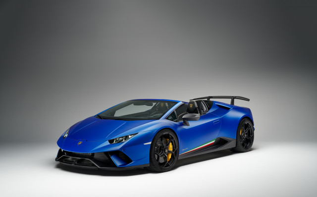 Lamborghini Huracan Performante Spyder Is Your New Old School Hairy