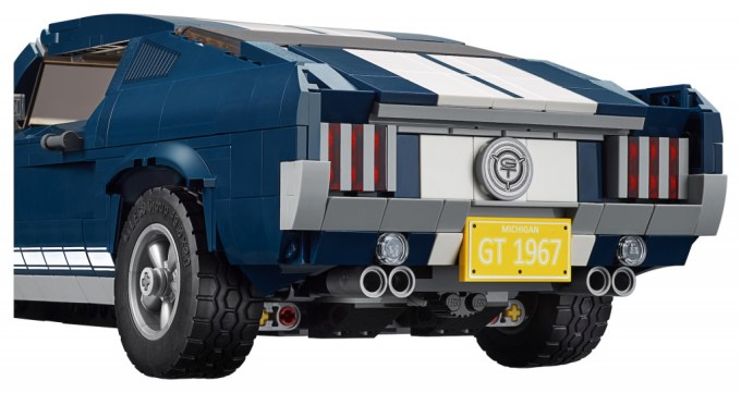 Build Your Own Mustang >> Brick By Brick Build Your Own Lego 1967 Ford Mustang Gt
