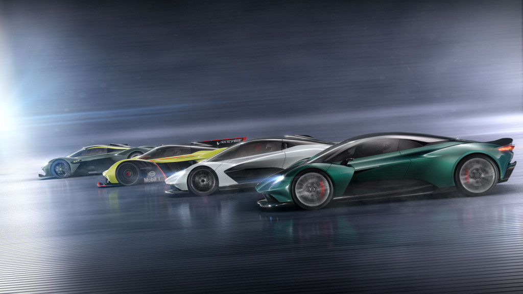 Aston Martin Vanquish Vision Concept Takes Nameplate To New Mid Engine Heights Automobilebrand Com