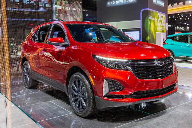 2021 Chevrolet Equinox, 2020 Chicago Auto Show