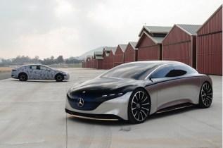 2022 Mercedes-Benz EQE spy shots