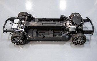 Karma boasts its extended-range EV platform is very, very flexible