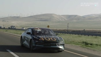 Lucid Air electric sedan prototype covers 400+ highway miles, company teases