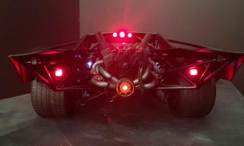 """The Batman"" Batmobile revealed as mid-engine muscle car"