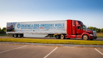 GM and Navistar will create and support 2,000 long-haul hydrogen fuel-cell semis