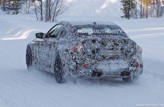 2023 BMW M2 spy shots: Next generation of driver's coupe spotted