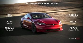 Bugatti Chiron Super Sport, 2021 Tesla Model S Plaid, 2022 Ford Maverick: This Week's Top Photos