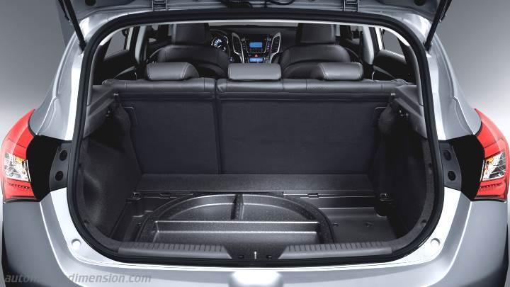 Hyundai I30 2015 Abmessungen Kofferraum Und Innenraum