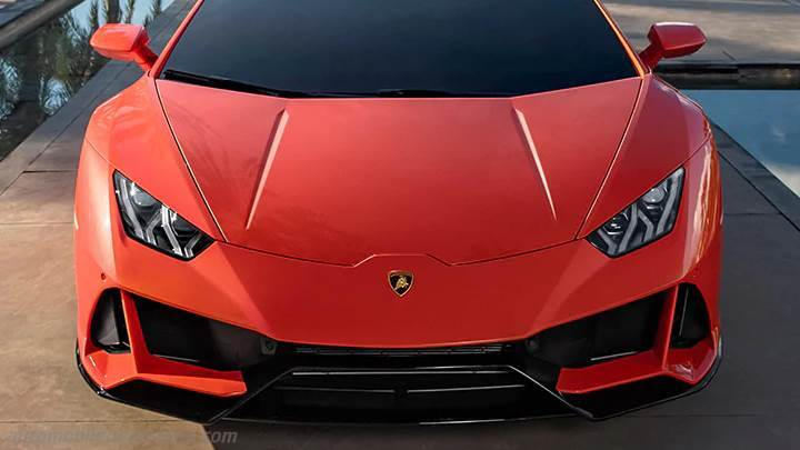 Lamborghini Huracán EVO 2019 dimensions, boot space and ...