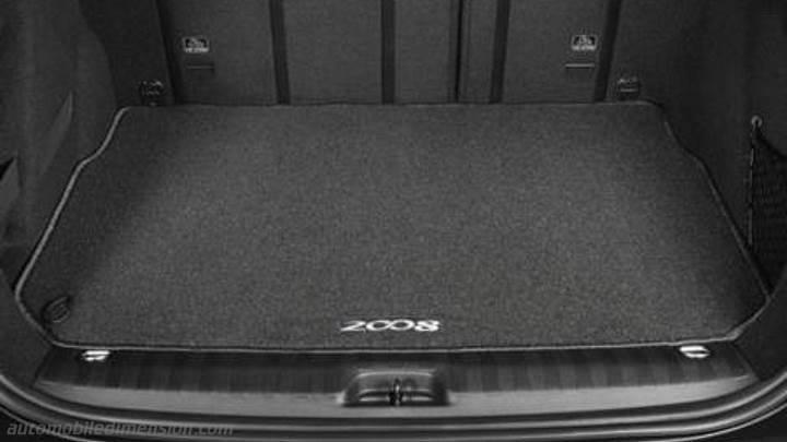 Peugeot 2008 2016 Abmessungen Kofferraum Und Innenraum