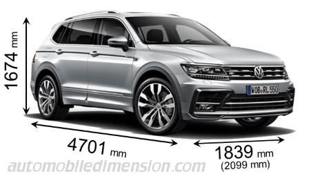 Volkswagen Tiguan Interior Dimensions Decoratingspecialcom