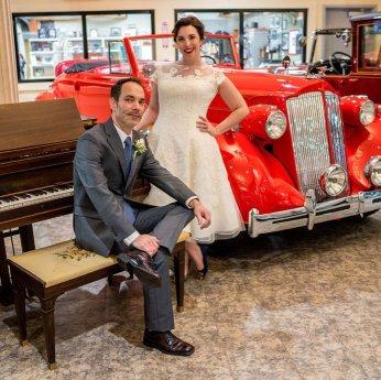Roberto & Nicole Wedding - Rent a Vintage Car for your wedding