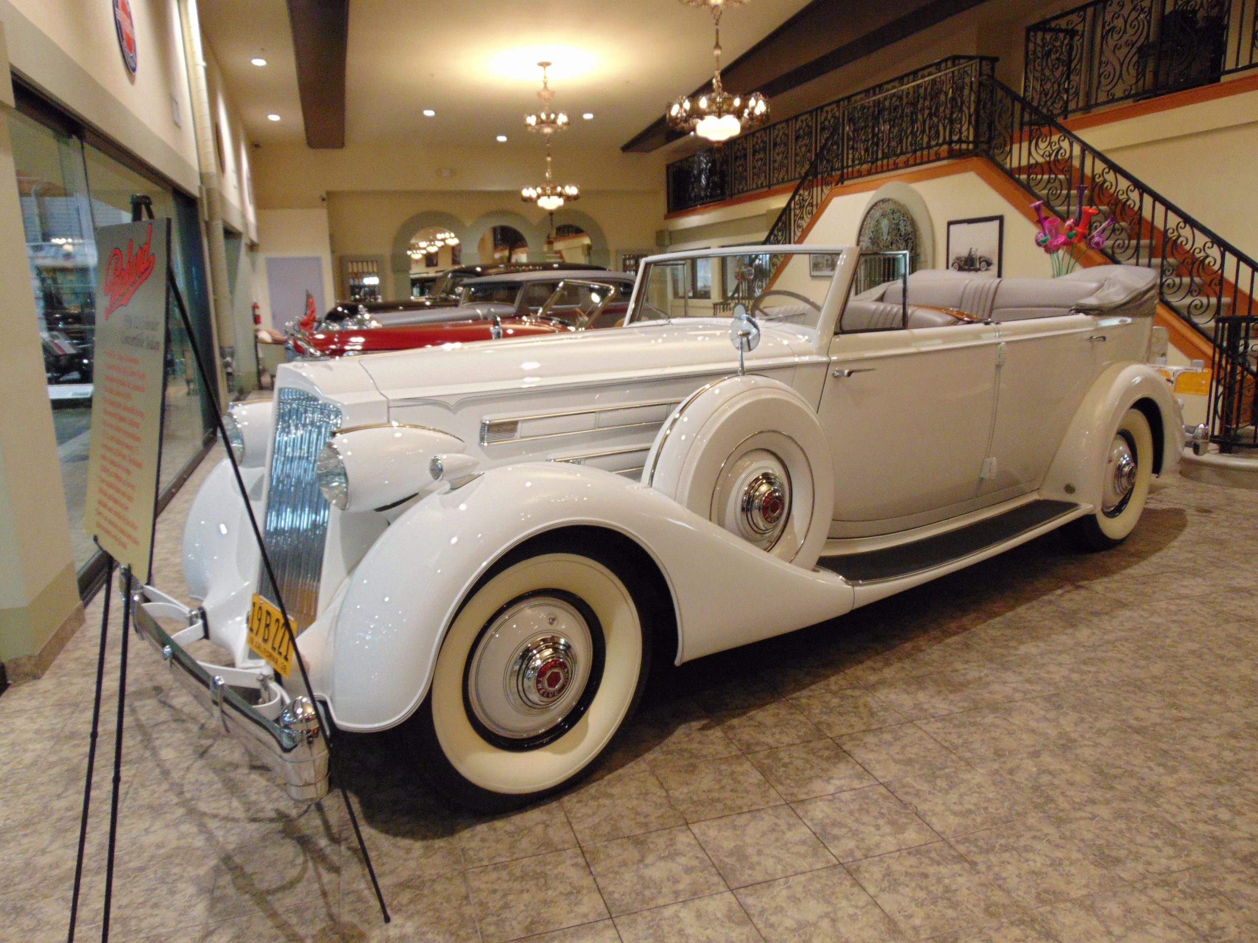 1936 Packard for rent