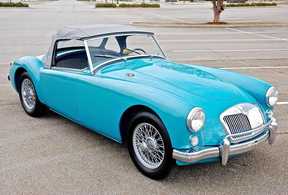 1958 MG A Roadster for rent