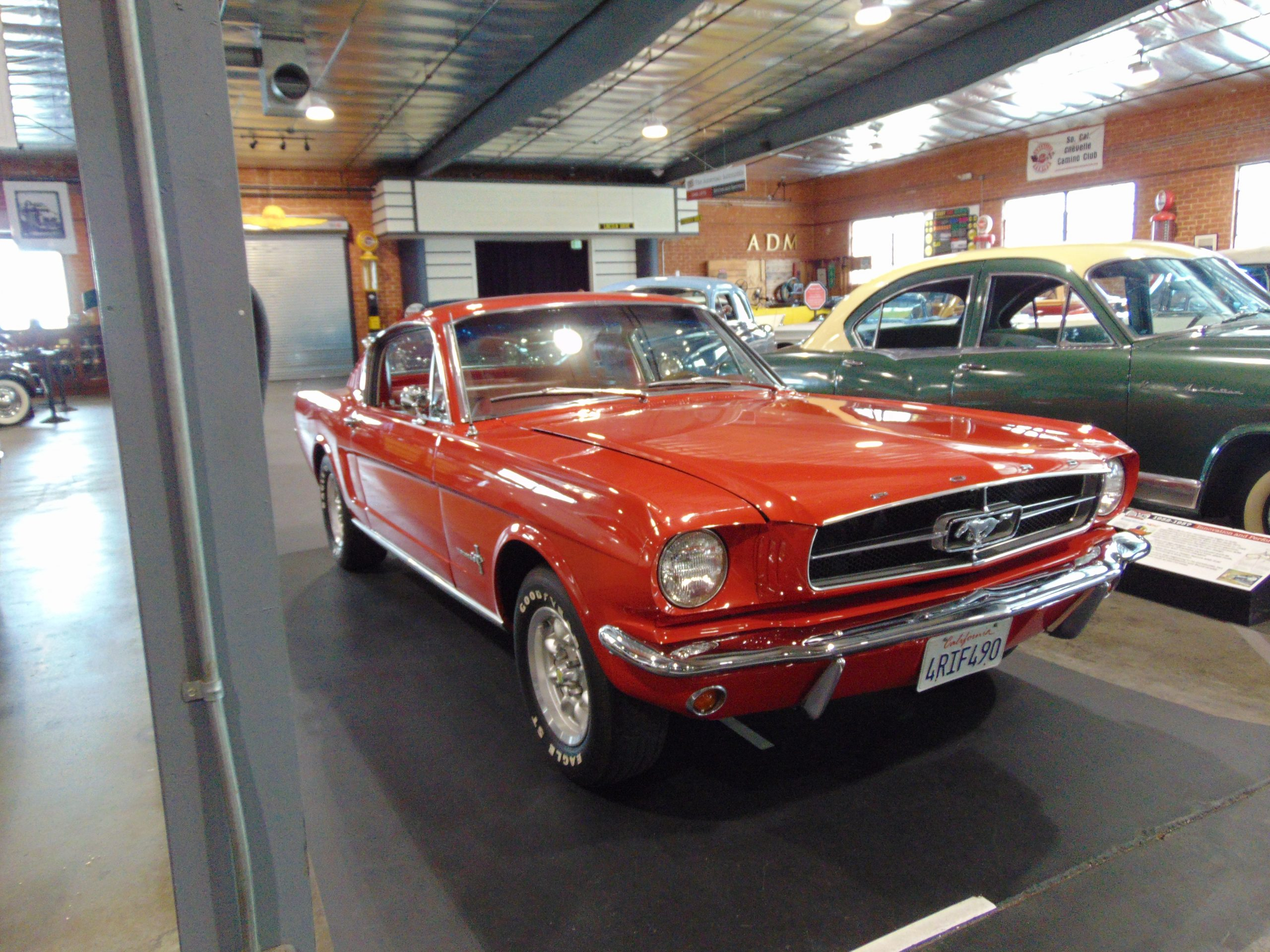 1965 Mustang for rent