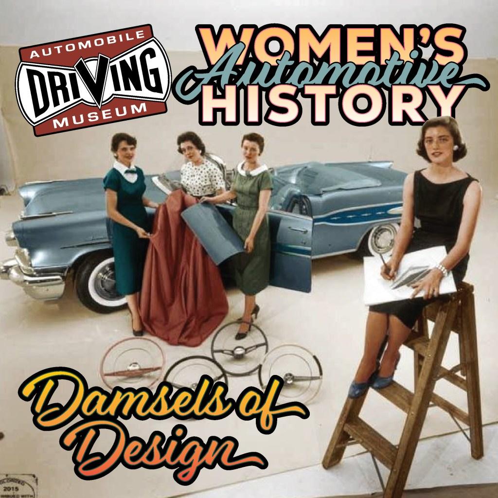 Damsels of Automotive Design