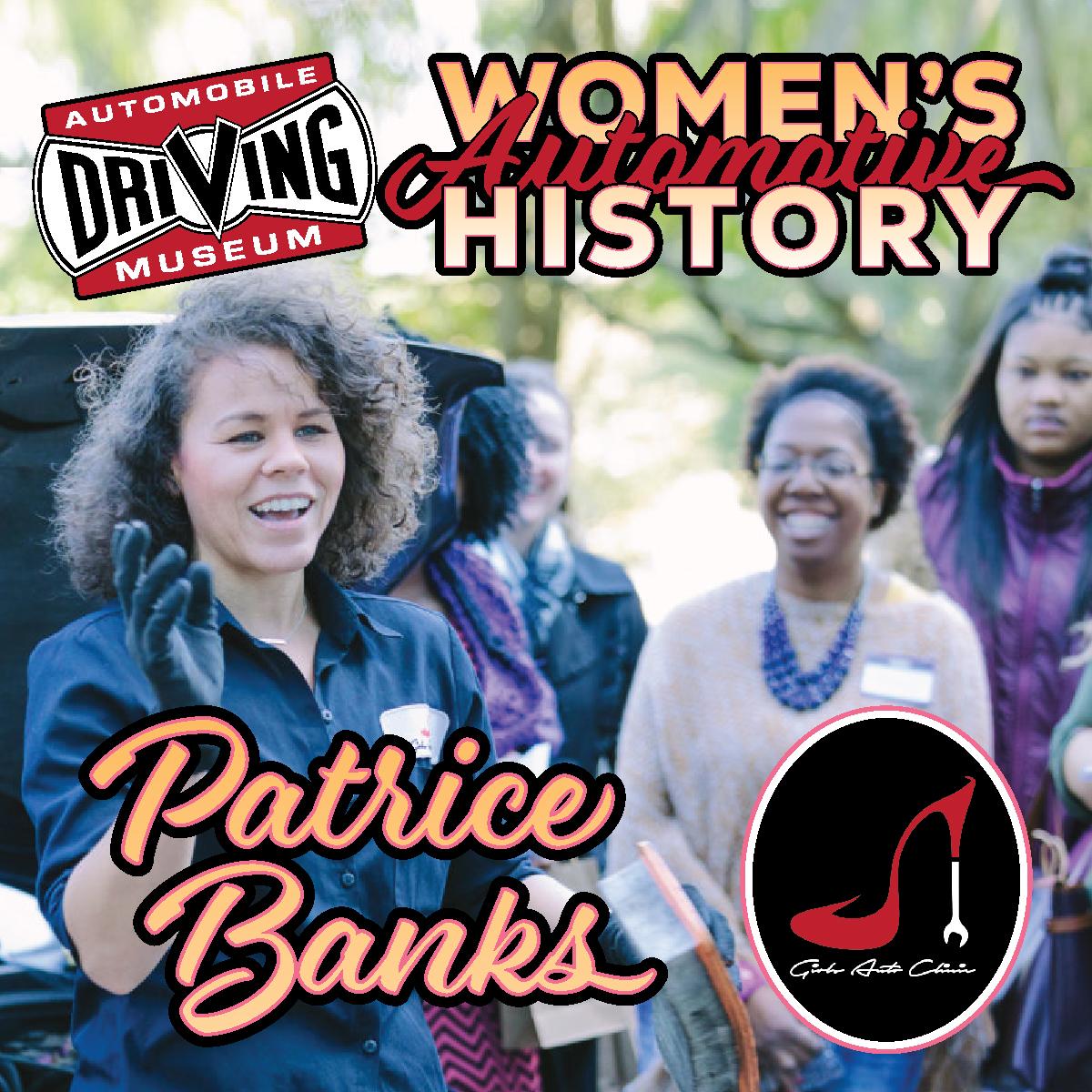 Patrice Banks Women's Automotive History