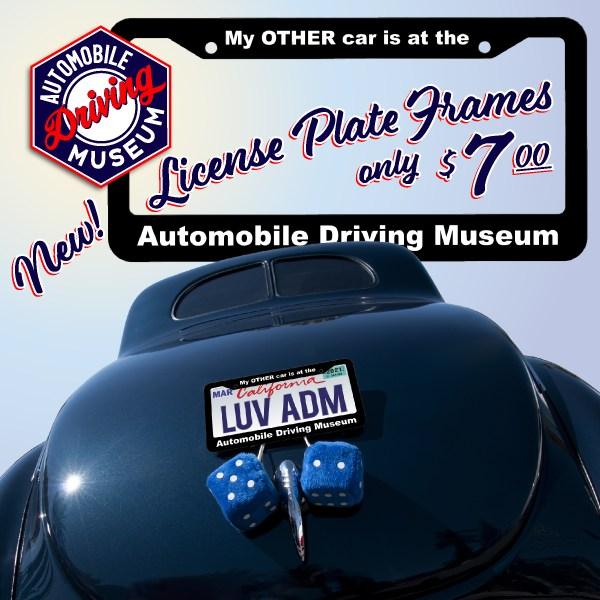 ADM License Plate Frame