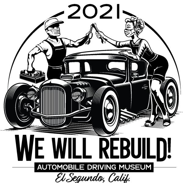 We will rebuild hot rod t shirt