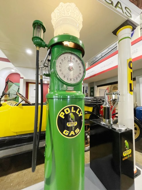 1920's Vintage Gas Pump at the ADM
