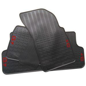 Car Floor Mats for 2006-2019 Year Audi Q7 Custom No Odor Carpets Waterproof Rubber