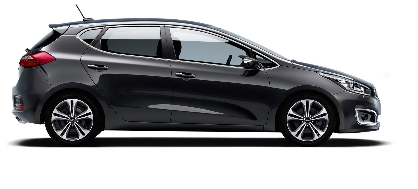 2016 Kia Ceed Facelift Debuts With Minor Styling Updates