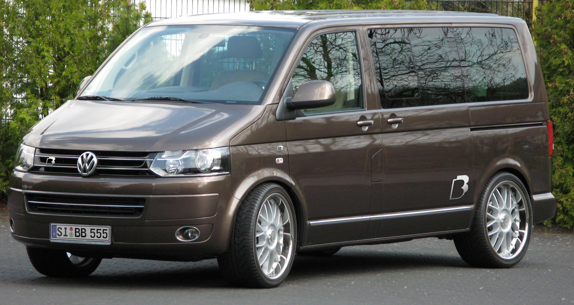 BampB Reveals Power Program For The VW Transporter T5