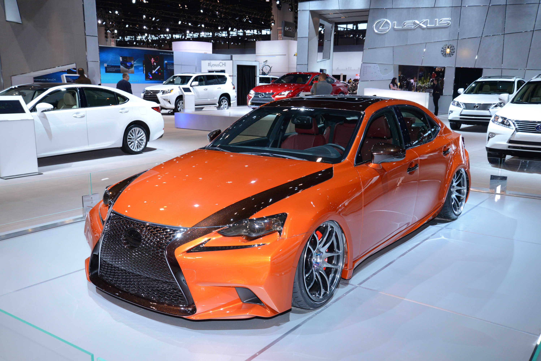 Lexus IS 250 F SPORT Chicago 2014 Picture