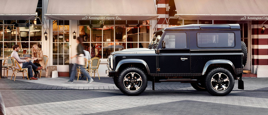 Overfinch Land Rover Defender Anniversary Edition Side View