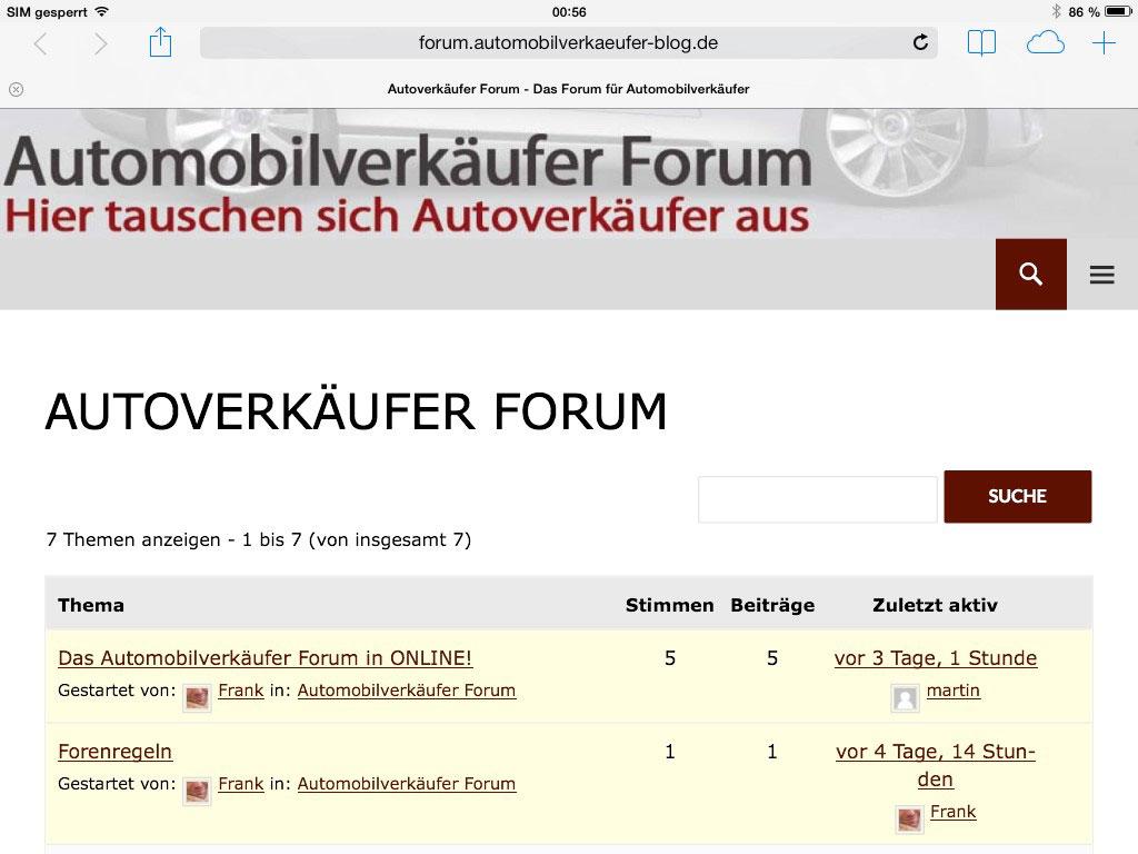 autoverkäufer-forum