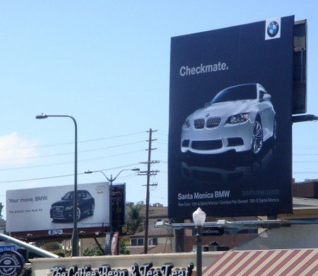 BMW outmanoeuvres Audi Checkmate