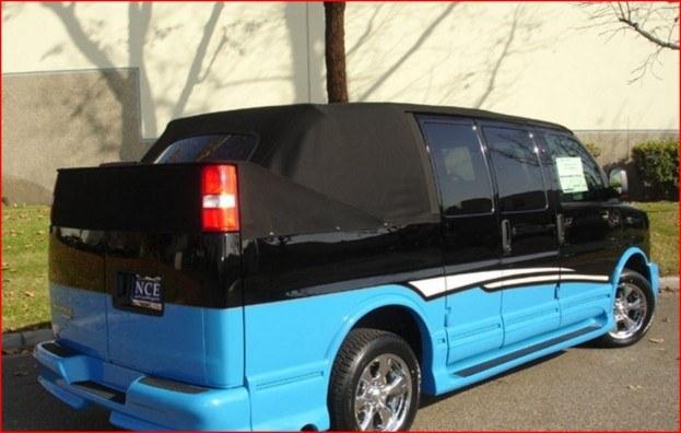 Chevy Van convertible 2