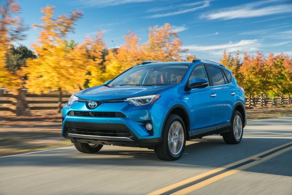 2016 Toyota RAV4 Hybrid Limited AWD Review