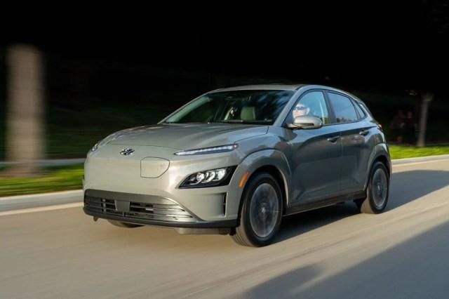 2022 Hyundai Kona Electric.