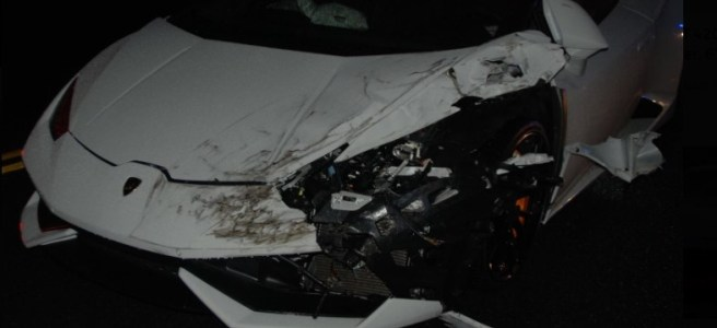 Huracan crash