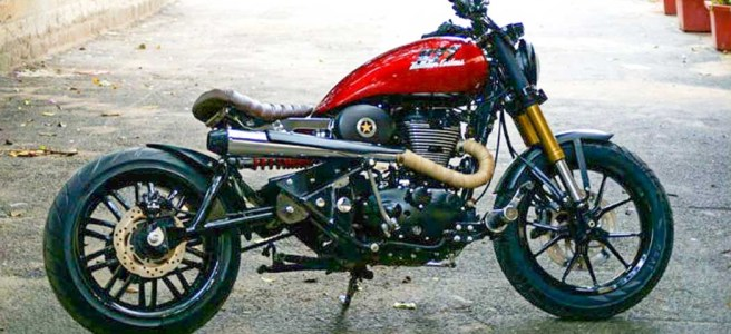 Royal enfield modified