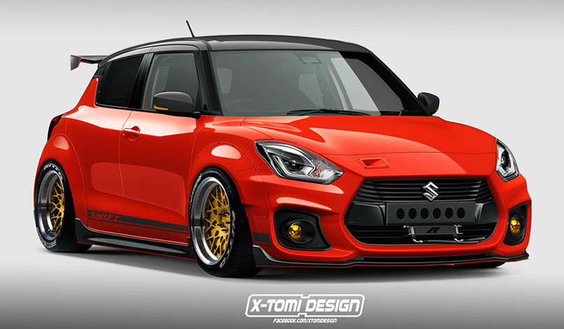 This is the Most Ravishing 2018 Maruti Suzuki Swift Modified Hatchback