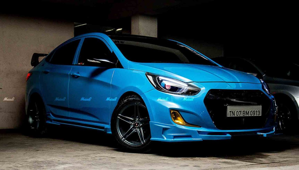 This is the Most Elegant 2018 Hyundai Verna Modified Sedan