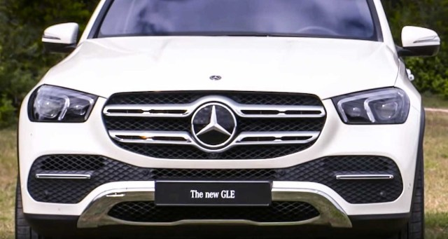 Mercedes Benz GLE 2019 in-depth review grille