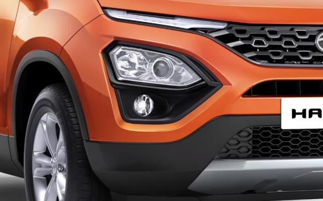 2019 Tata Harrier Fog Lamps Headlights