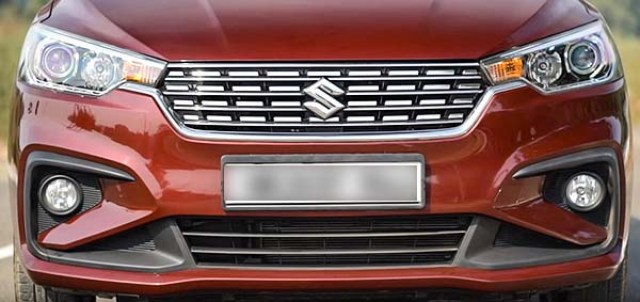 maruti ertiga 2018 2019 in depth review-1 headlamps fog lamps front grille front bumper