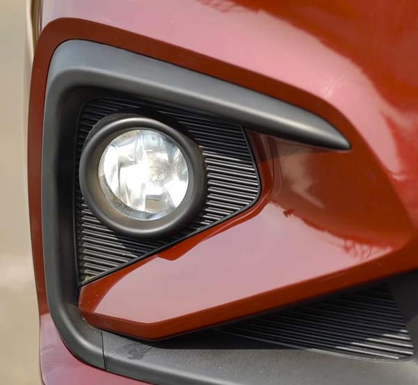 maruti ertiga 2018 2019 in depth review front fog lamps