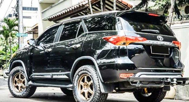 Toyota fortuner modified 2018 dragon1