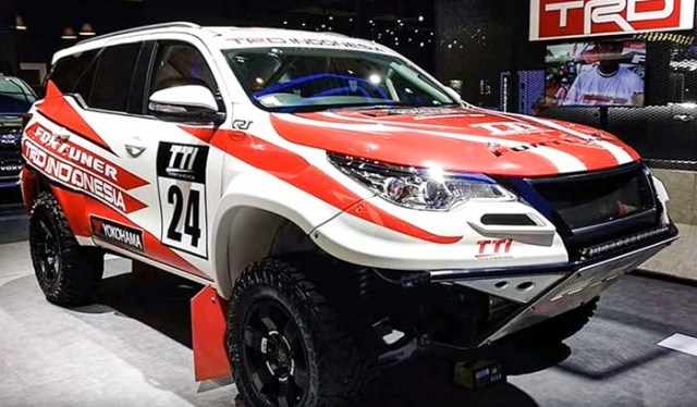 Toyota fortuner modified 2018 rally